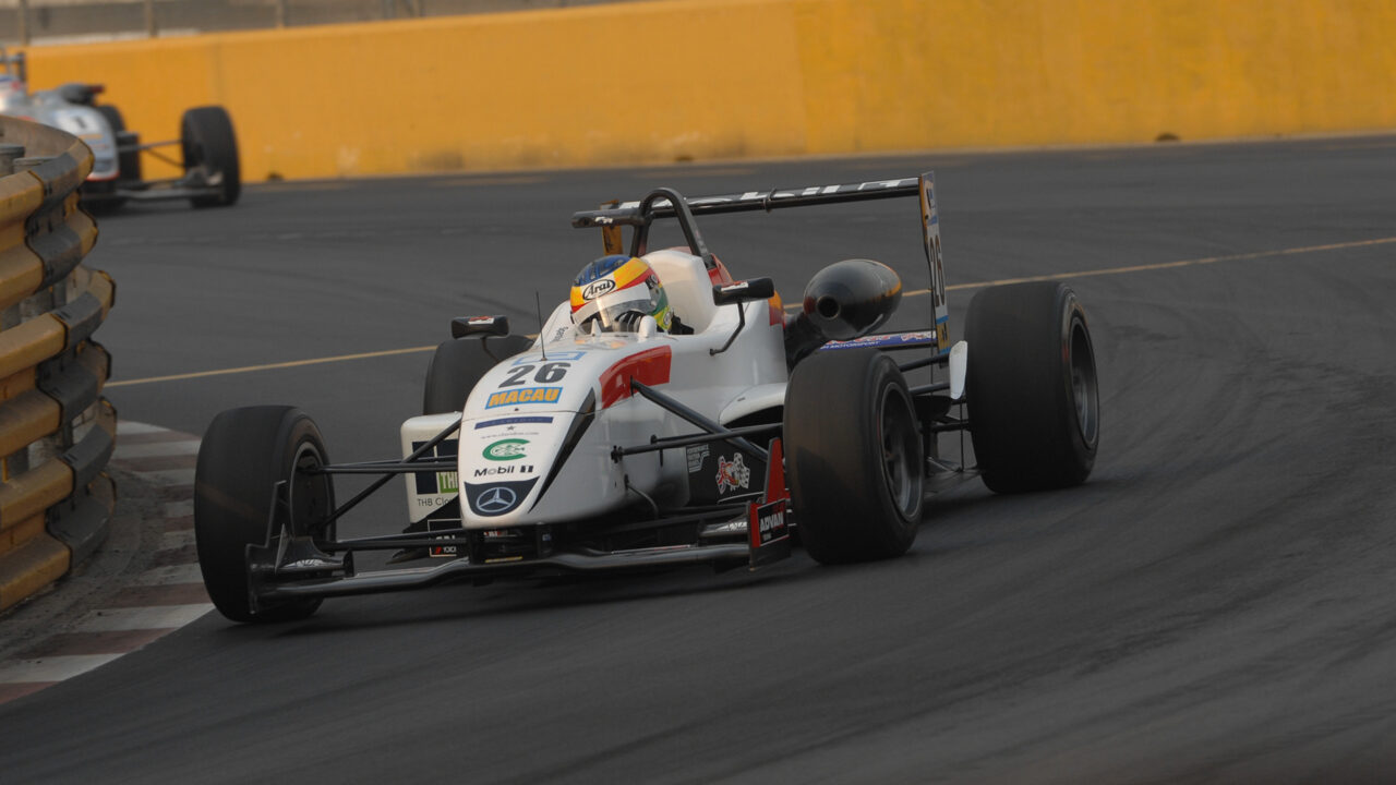 Mike Conway was the winner of the 2006 Macau Grand Prix