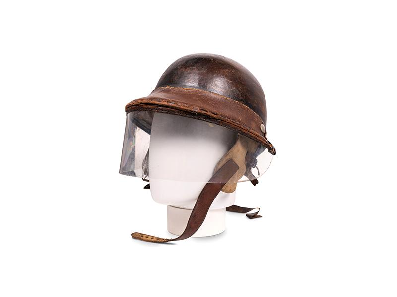 Race Used Herbert Johnson Helmet